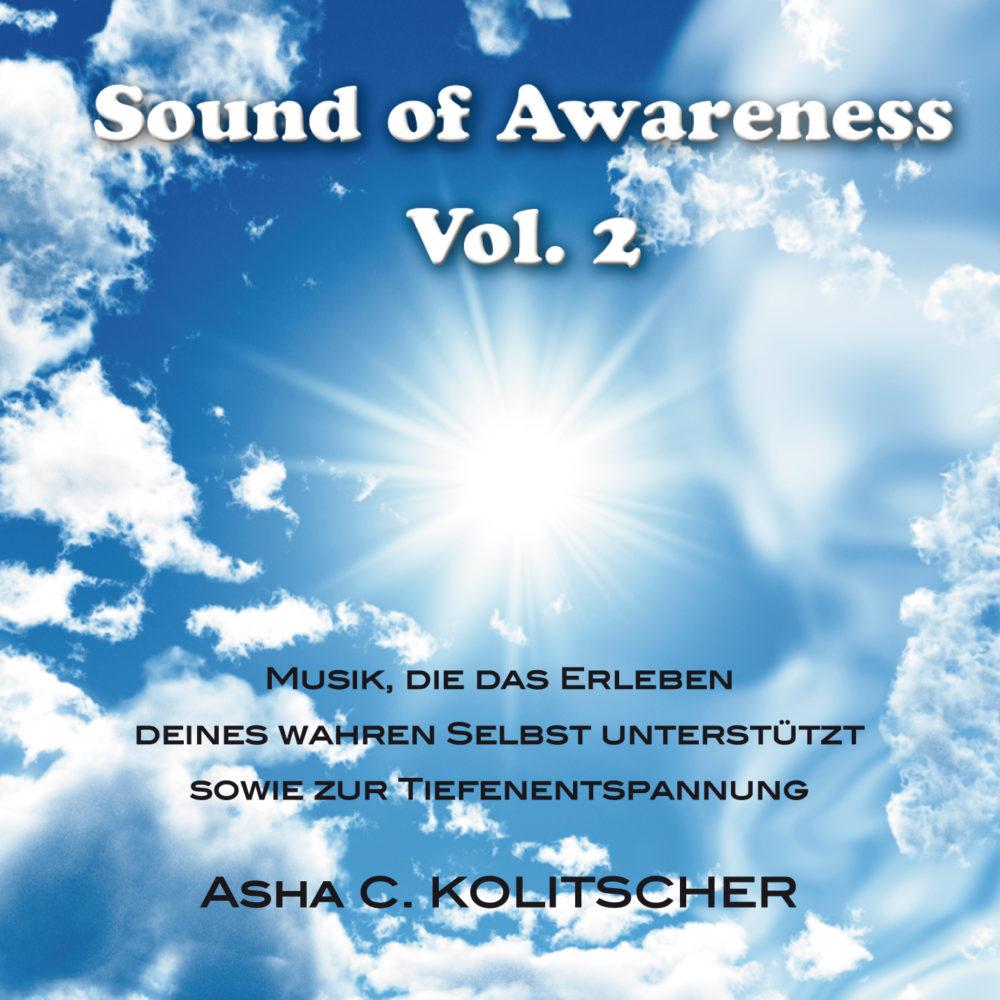 CD Sound of Awareness Vol. 2, Asha C. Kolitscher