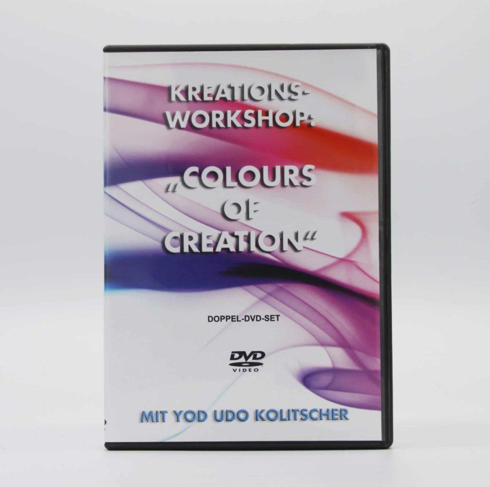 DVD   Colors of Creation - Kreationsworkshop 1