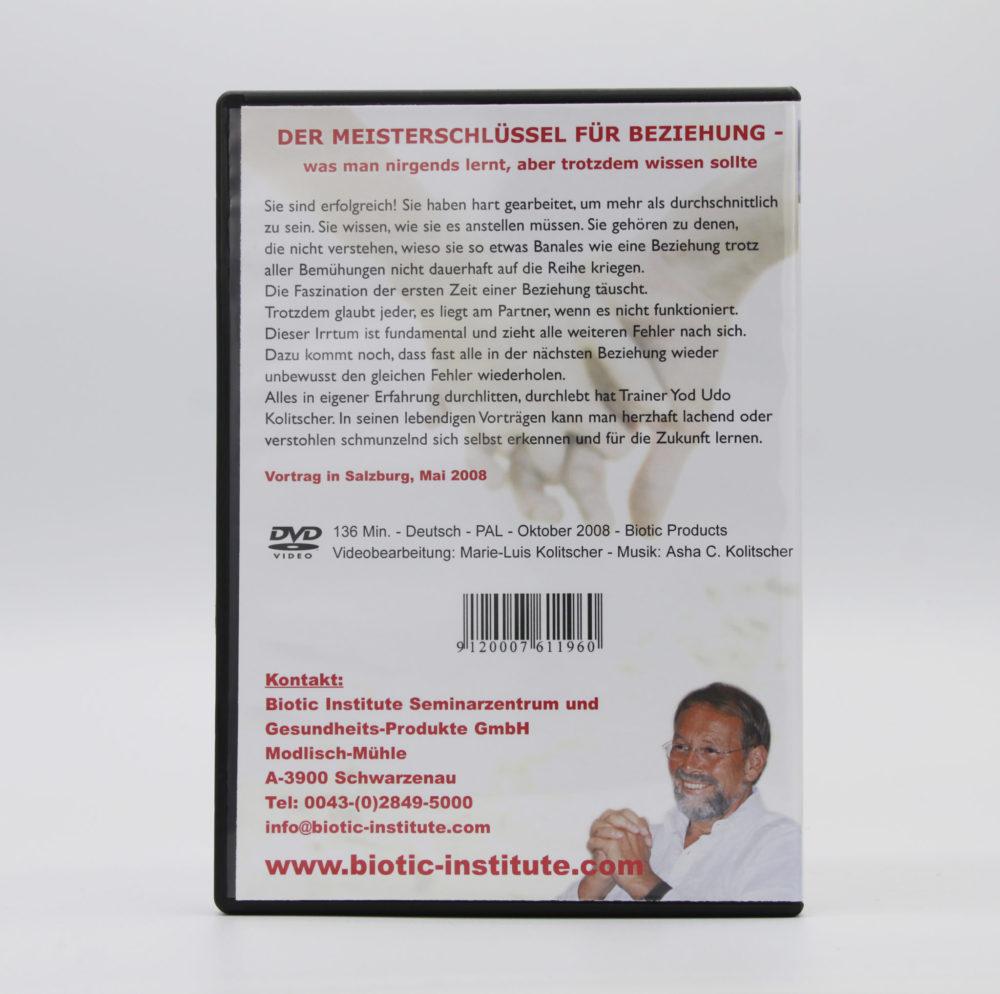 DVD | Der Meisterschlüssel für Beziehung 2