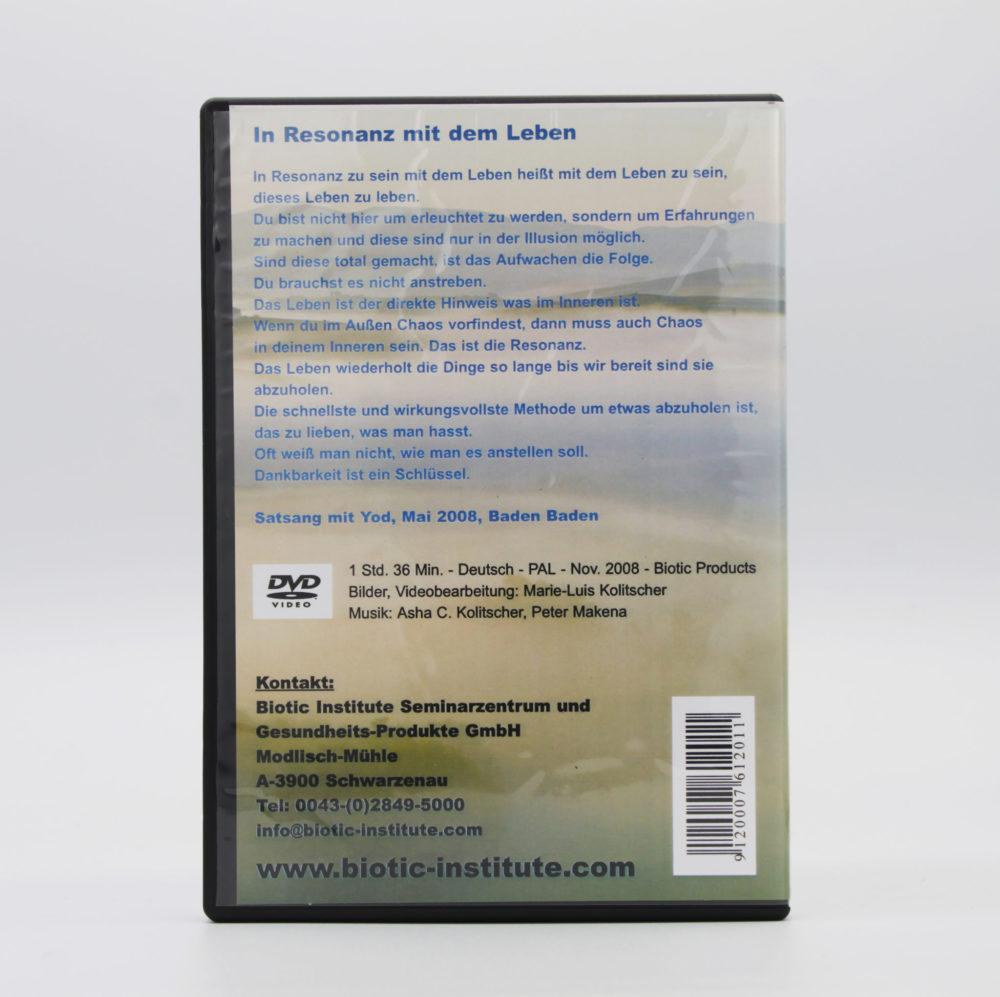 DVD   In Resonanz mit dem Leben 2