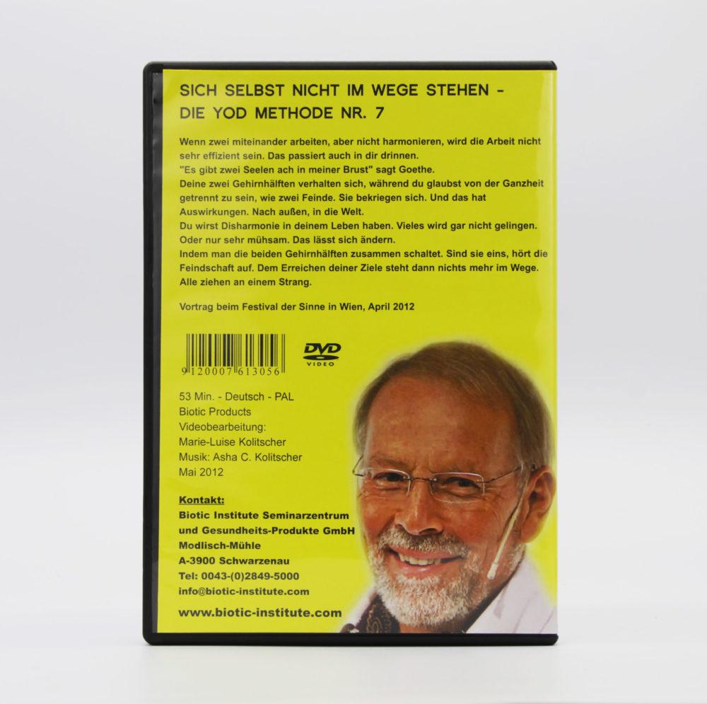 DVD | Sich selbst nicht im Wege stehen 2