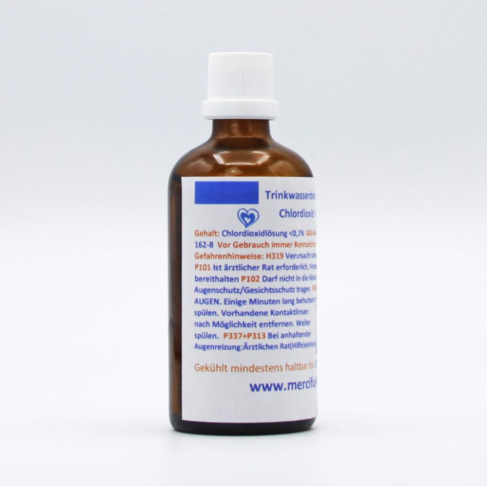 Merciful Trading   CDL (CDS) Chlordioxid Lösung 0,3% 1