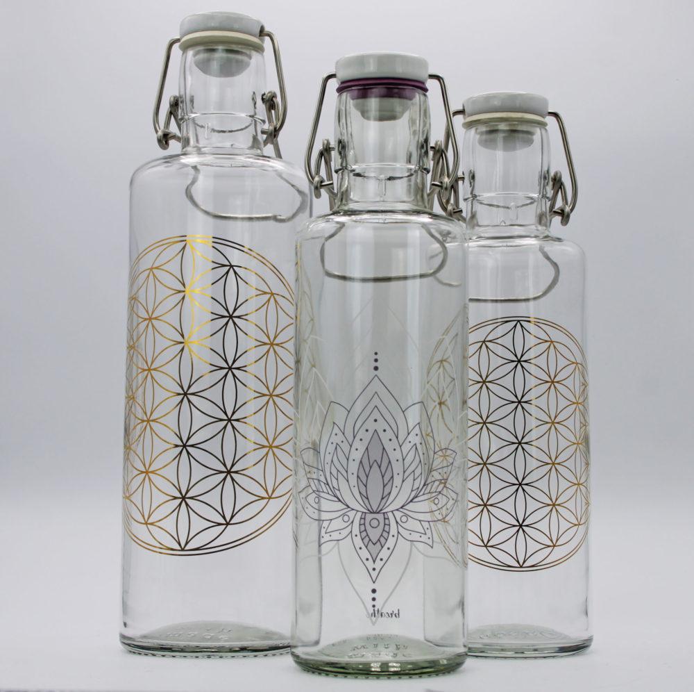 soulbottles   Trinkflasche aus Glas 1