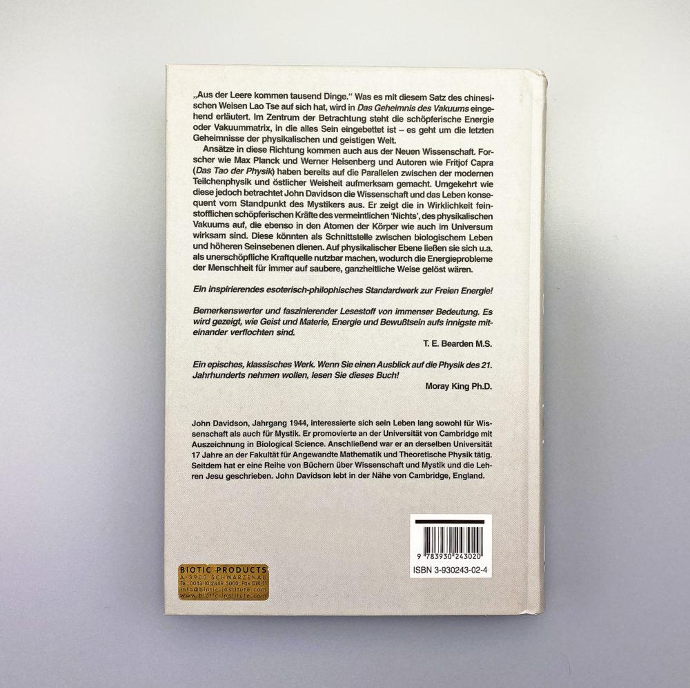 Buch   Das Geheimnis des Vakuums 2