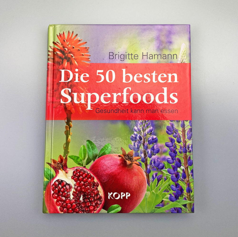 Buch   Die 50 besten Superfoods 1