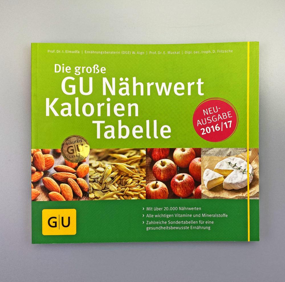 Buch GU Nährwert Kalorien Tabelle