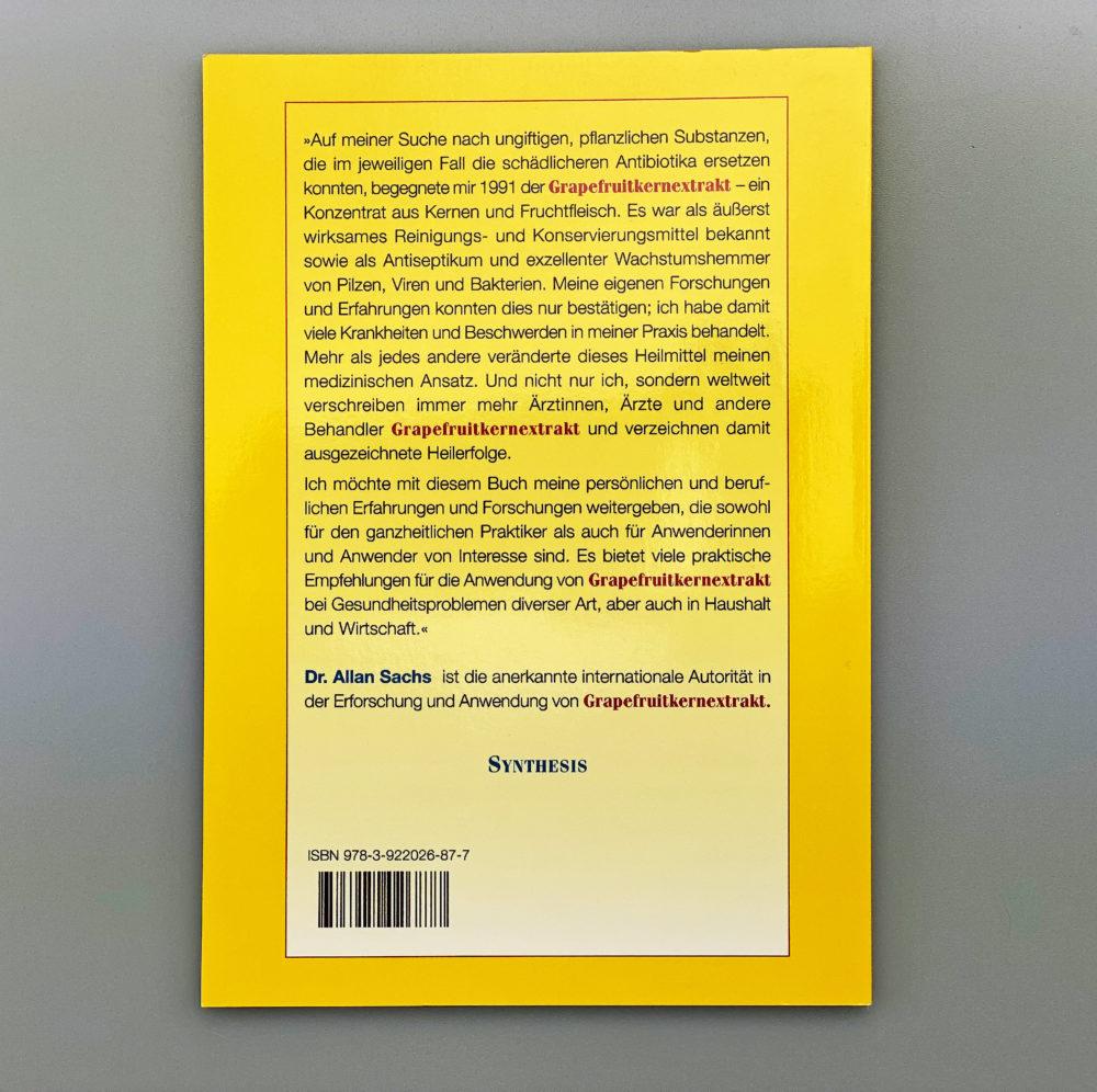 Buch | Gesund sein mit Grapefruitkernextrakt 1